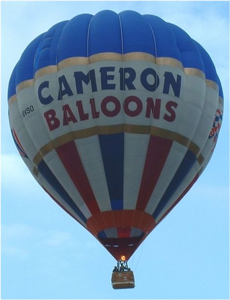 investigating cameron balloons essay Tail number year maker model c/n engines seats location g-byhw: 1992 cameron balloons a-160: 2848: 0: united kingdom: g-byhx: 1999 cameron balloons a-250: 4565: 0: united kingdom.